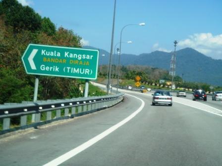 Exit Kuala Kangsar