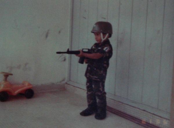 Aku masa nak jadi askar