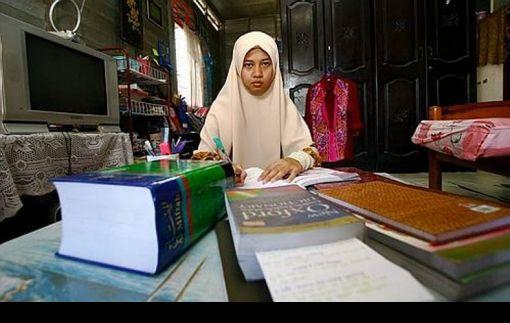 Nik Nur Madihah... gambar Utusan Malaysia