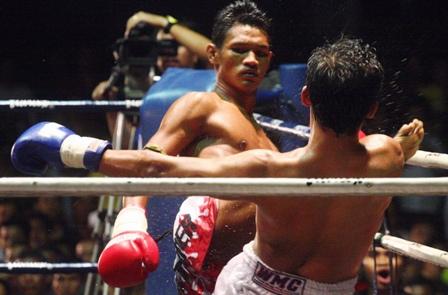 Aksi Faizal mengasak lawan