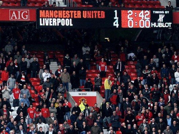 Man U 1-4 Liverpool
