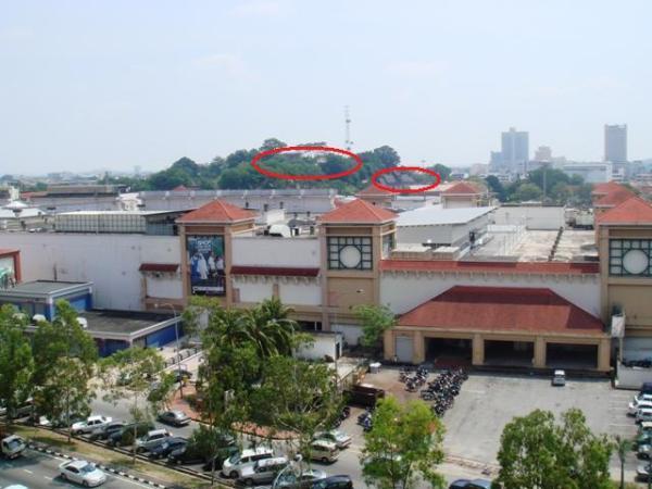 View dari balkoni apartment... nampak Muzium dan A-Famosa