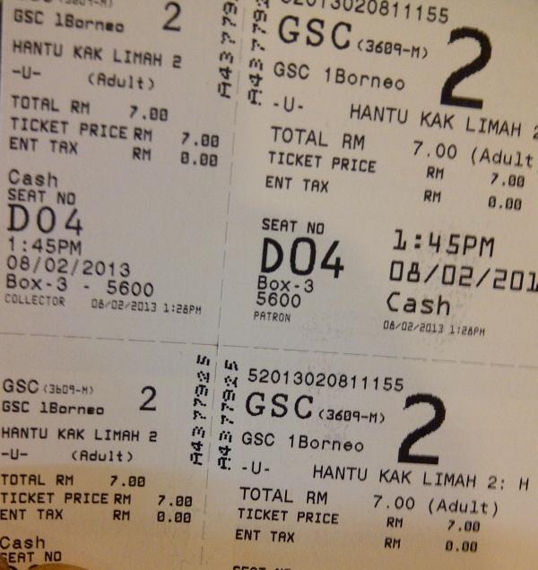 Layan di GSC 1 Borneo